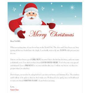 Free Santa Letter  Santa Certificate Download From Us  Yo Free