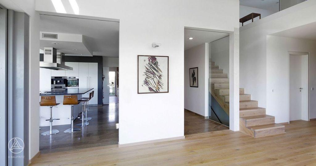 Musterhaus inneneinrichtung küche  Halboffene Küche im Bauhaus | Look | Pinterest | Halboffene Küche ...