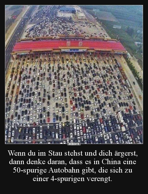 Photo of Wenn du im Stau stehst und dich ärgerst, dann denke daran..