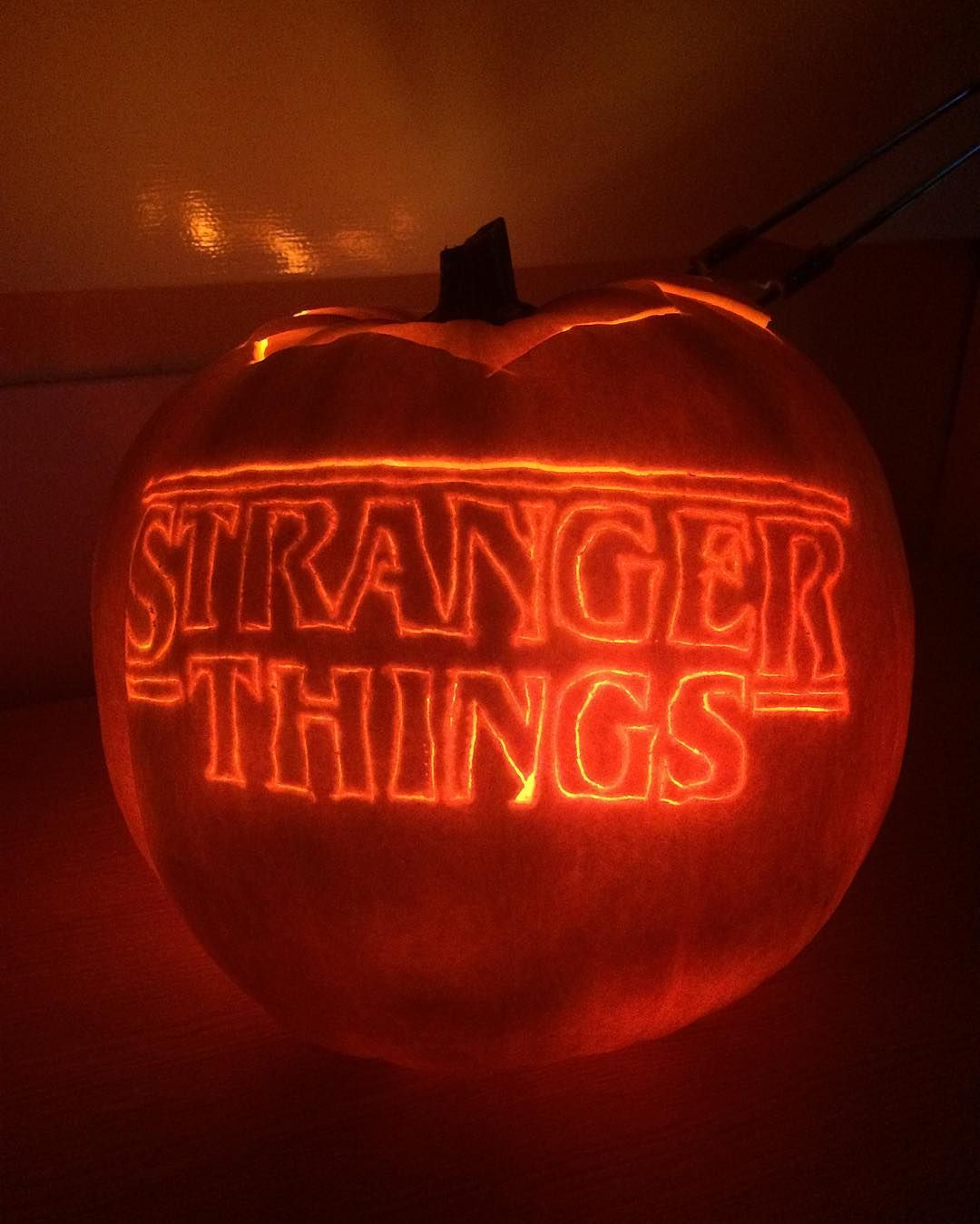 6 Perfect Pumpkin Ideas For All Fans Obsessed With Stranger Things Stranger Things Pumpkin Cute Pumpkin Carving Stranger Things Halloween