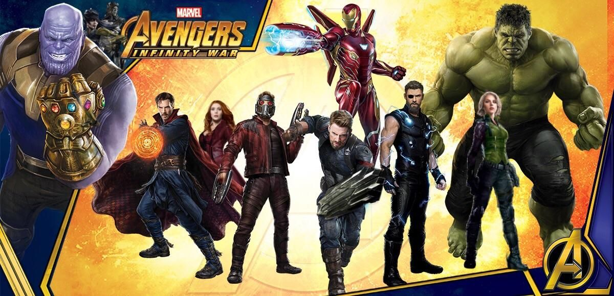 Avengers Infinity War New Characters Superhero Weapons Suits