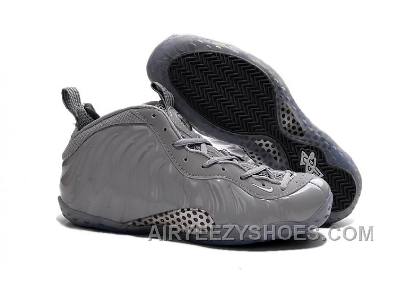 Big Discount  66 OFF 2017 Nike Air Foamposite One Premium Wolf Grey Mens Basketball Shoes