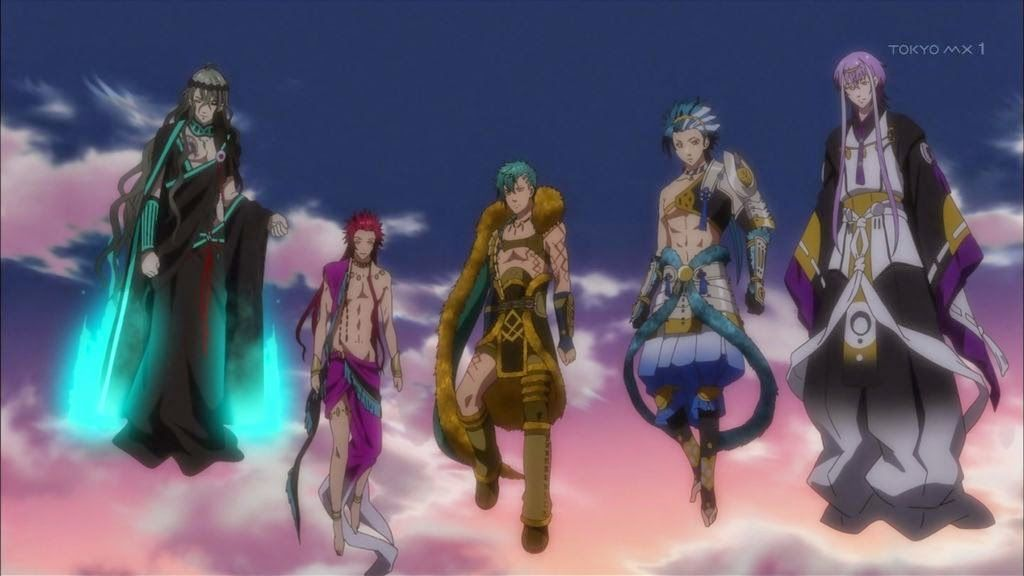 Kamigami no Asobi is in episode 12, where we see all the guys in ...
