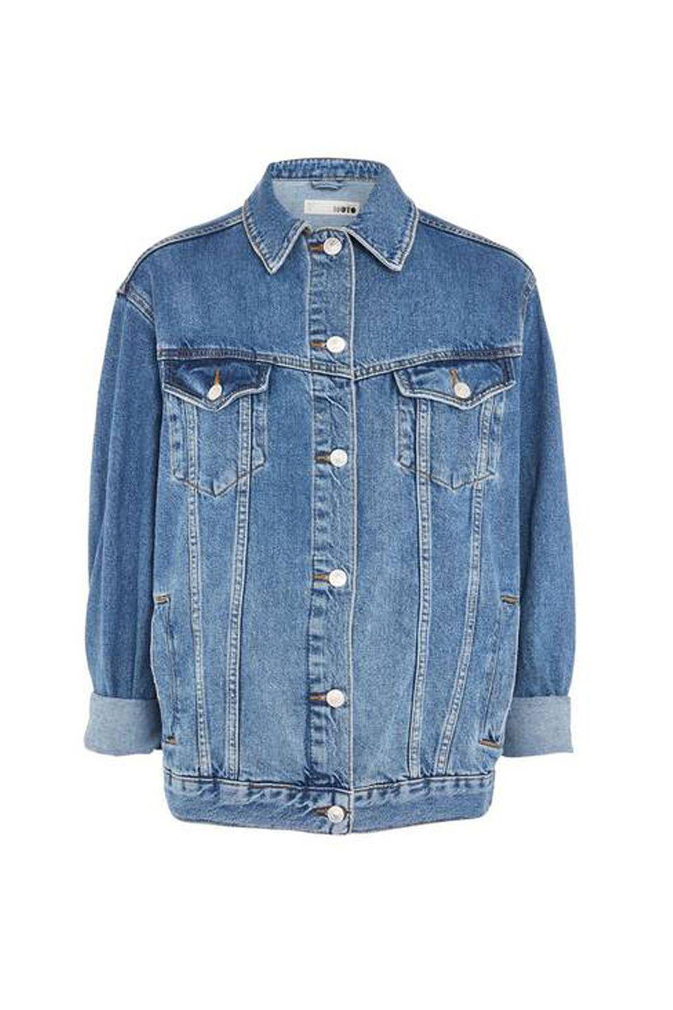 Denim Jackets That Ll Become Your Year Round Uniform Denim Jean Jacket Outfits Oversized Denim Jacket Petite Denim Jacket [ 1470 x 980 Pixel ]