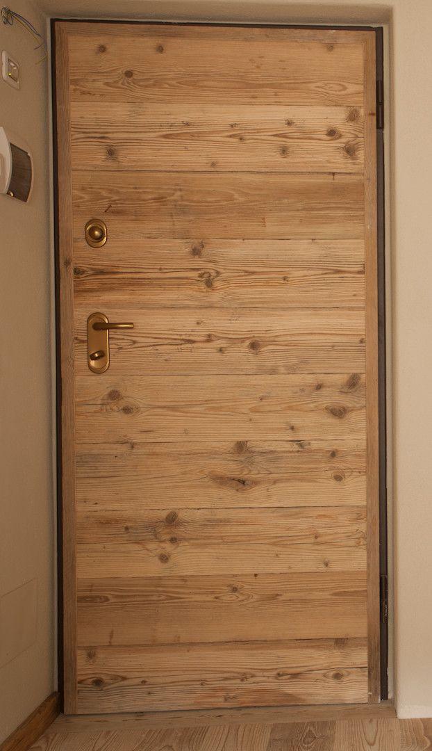 Porta in stile moderno abete antico porte in legno for Case stile antico