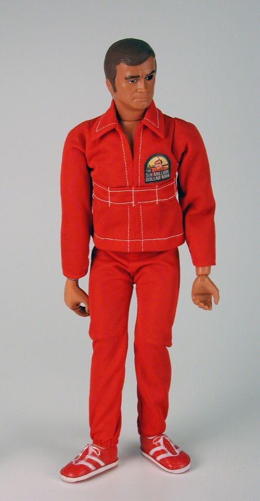 Steve Austin, Six Million Dollar Man doll- Some of the guys, who I knew, actually had this doll-lol