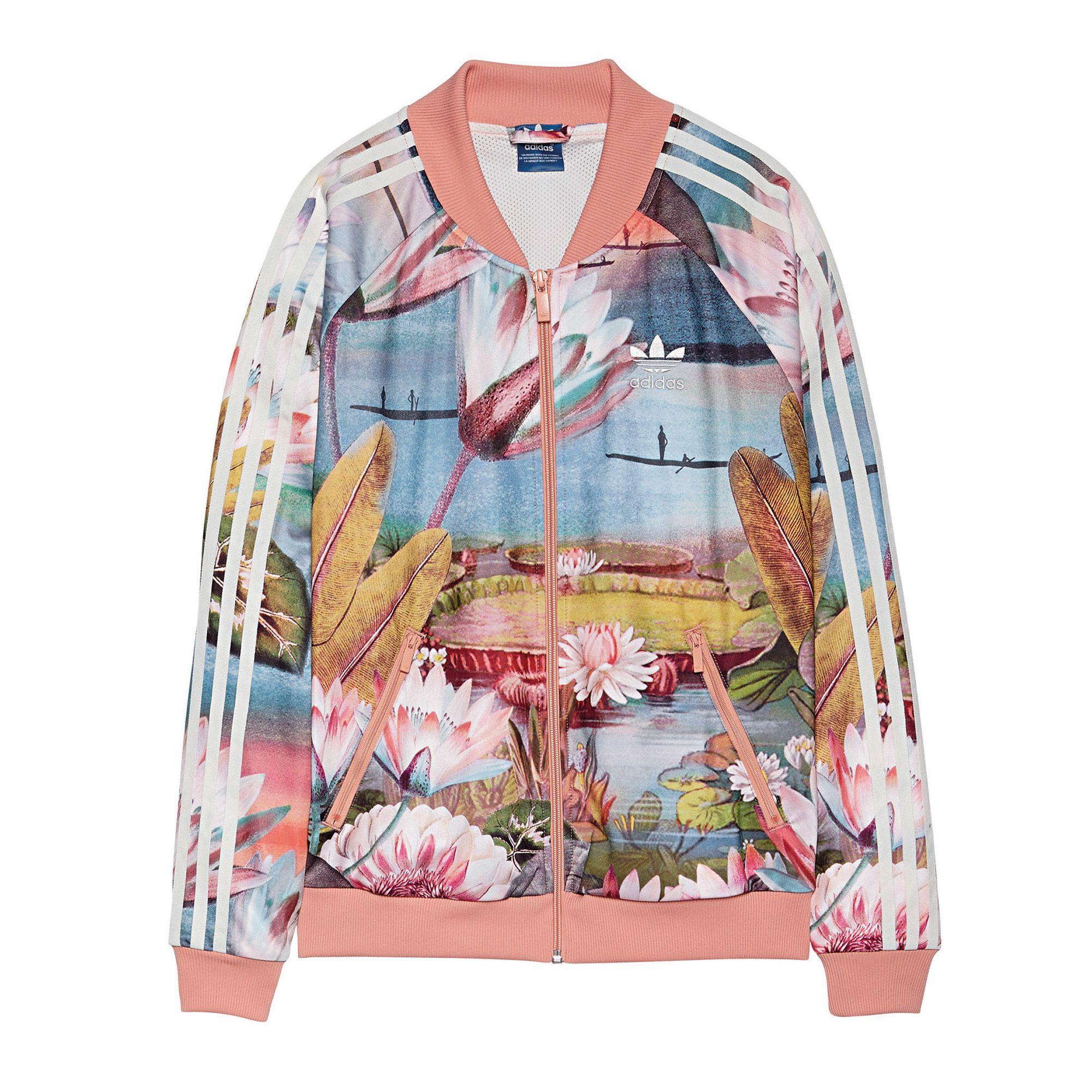 adidas Originals Damen Jacke Curso Dagua Superstar Jacket