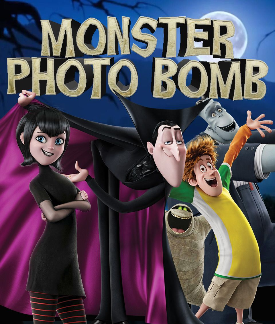 Hotel Transylvania 2 Monster Photo Bomb Sony Pictures Home