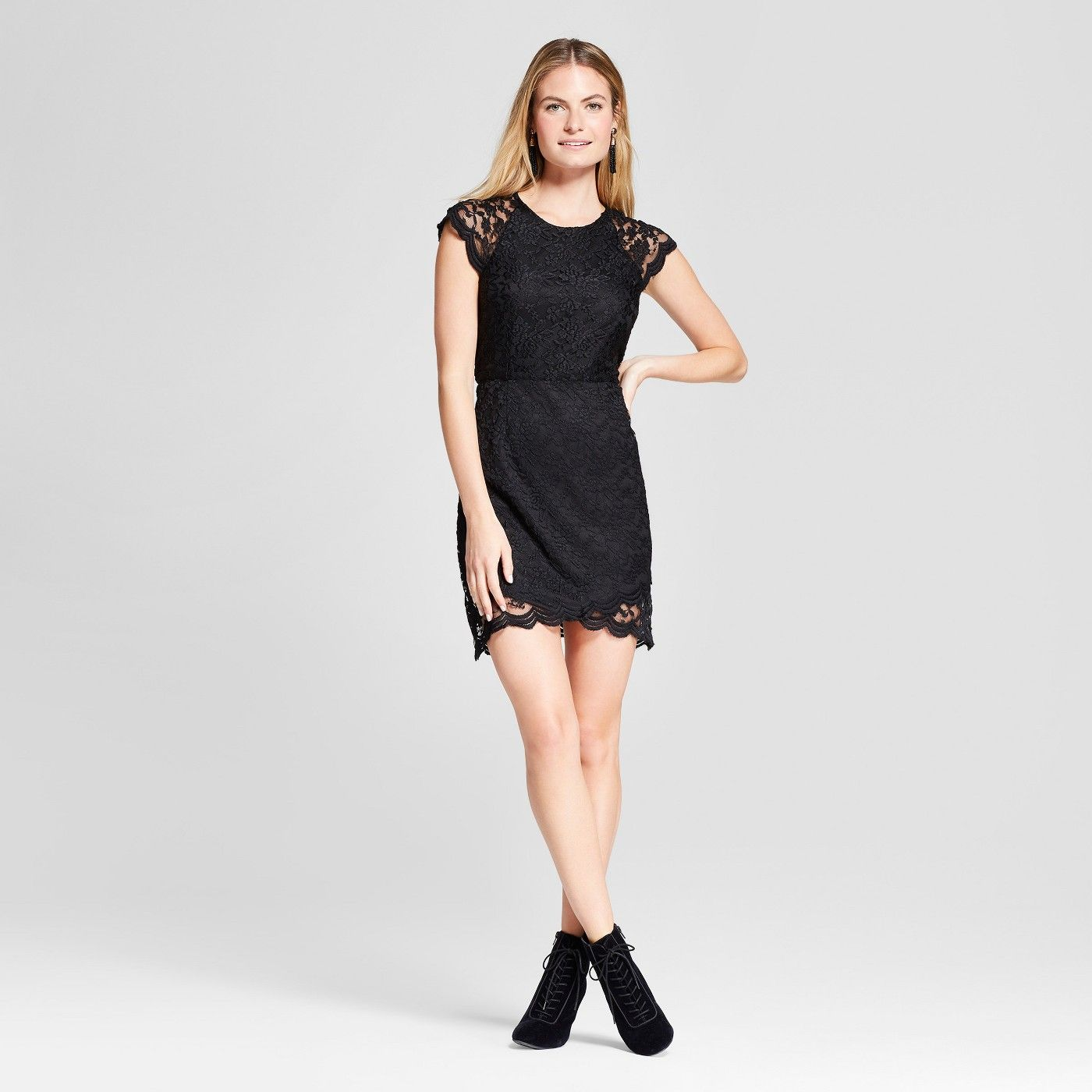 Gothic Fashion At Target Yes You Can Shop Goth At Target Capped Sleeve Dress Dresses Fashion [ 1400 x 1400 Pixel ]