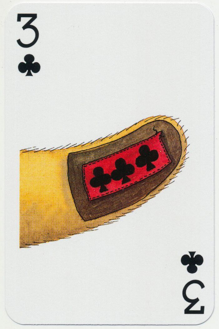 Teddy Bear playing cards designed by Peter Wood for Lyons Quickbrew Tea