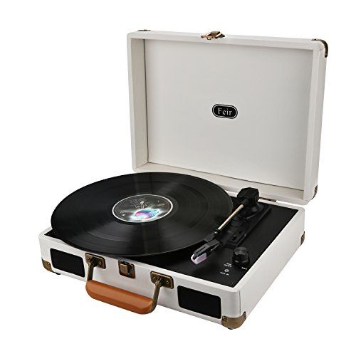 Vinyl Stereo Turntable Portable Suitcase With Built In 2 Https Www Amazon Com Dp B0716wbxg6 Ref Cm Sw R Pi Vinyl Record Player Vinyl Player Record Player
