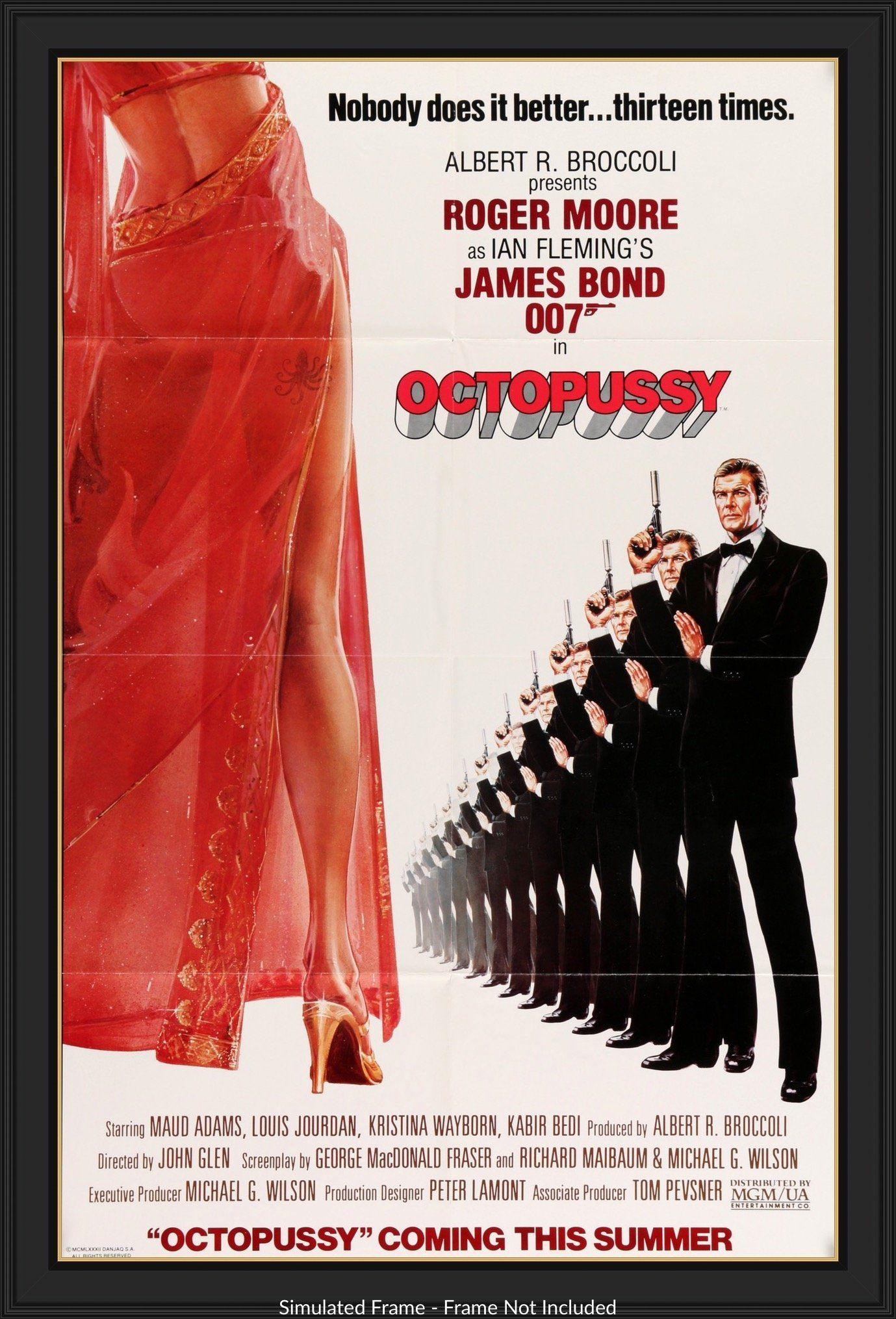 Octopussy (1983) in 2020   James bond movies, James bond