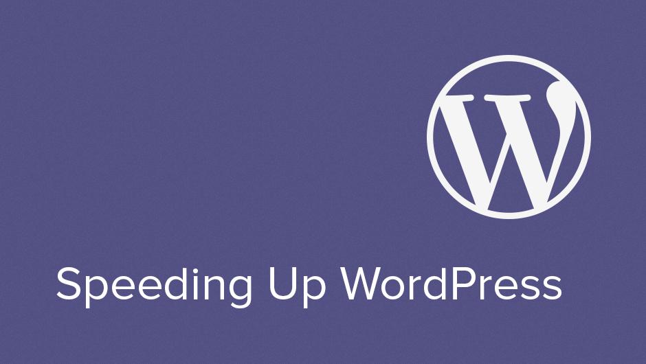 How to Speed up WordPress in 2019 WordPress Tutorials Wordpr