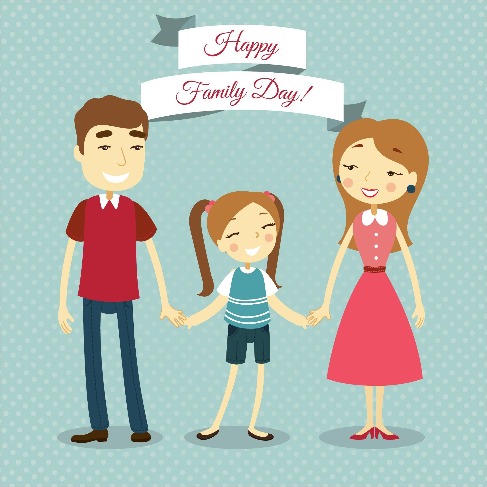 fdcfd4b3 Happy Lovely Family Day Background Wallpaper & Vectors | 500 Best ...