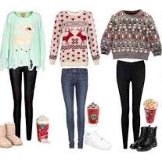 Christmas Sweaters Cute.Pin On Christmas Outfits