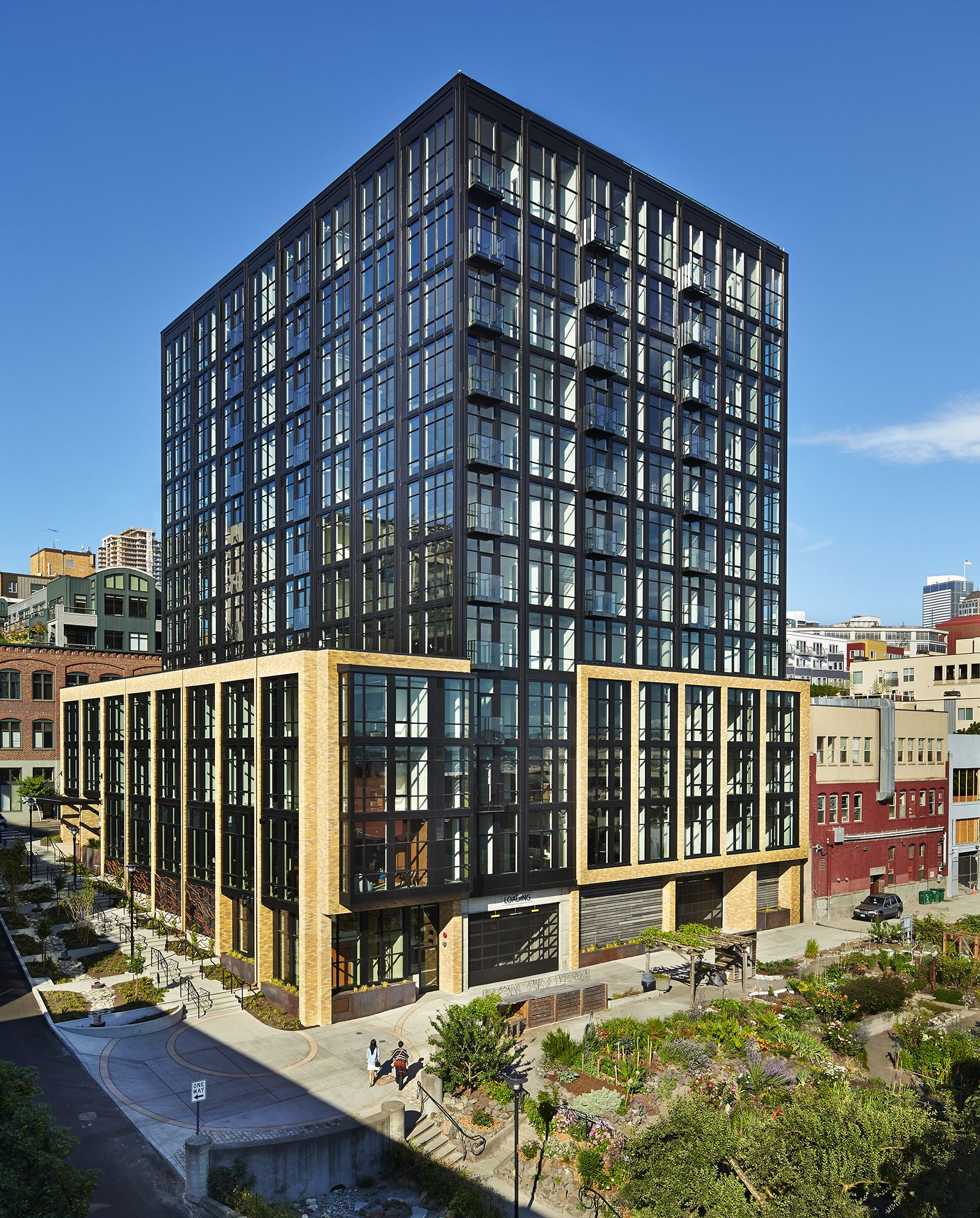 Brilliant Image Of Apartments Architecture Building Urban Housing Multi Family Lofts Architects