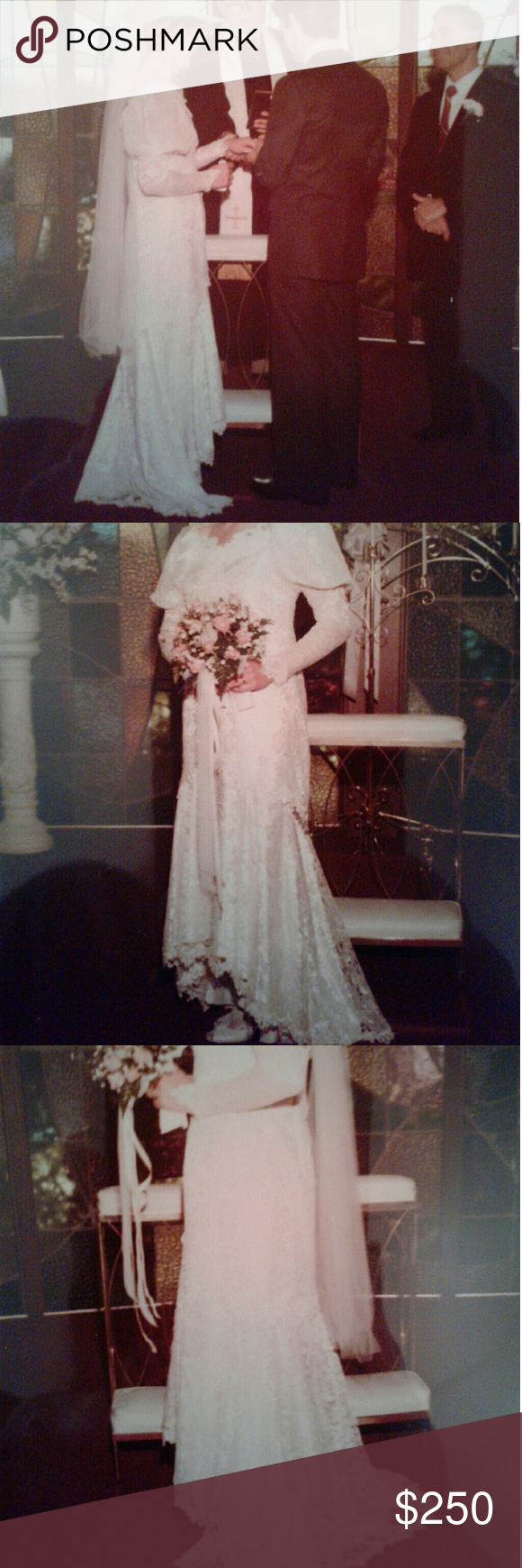 Cream colored vintage wedding dresses  Vintage Wedding Dress