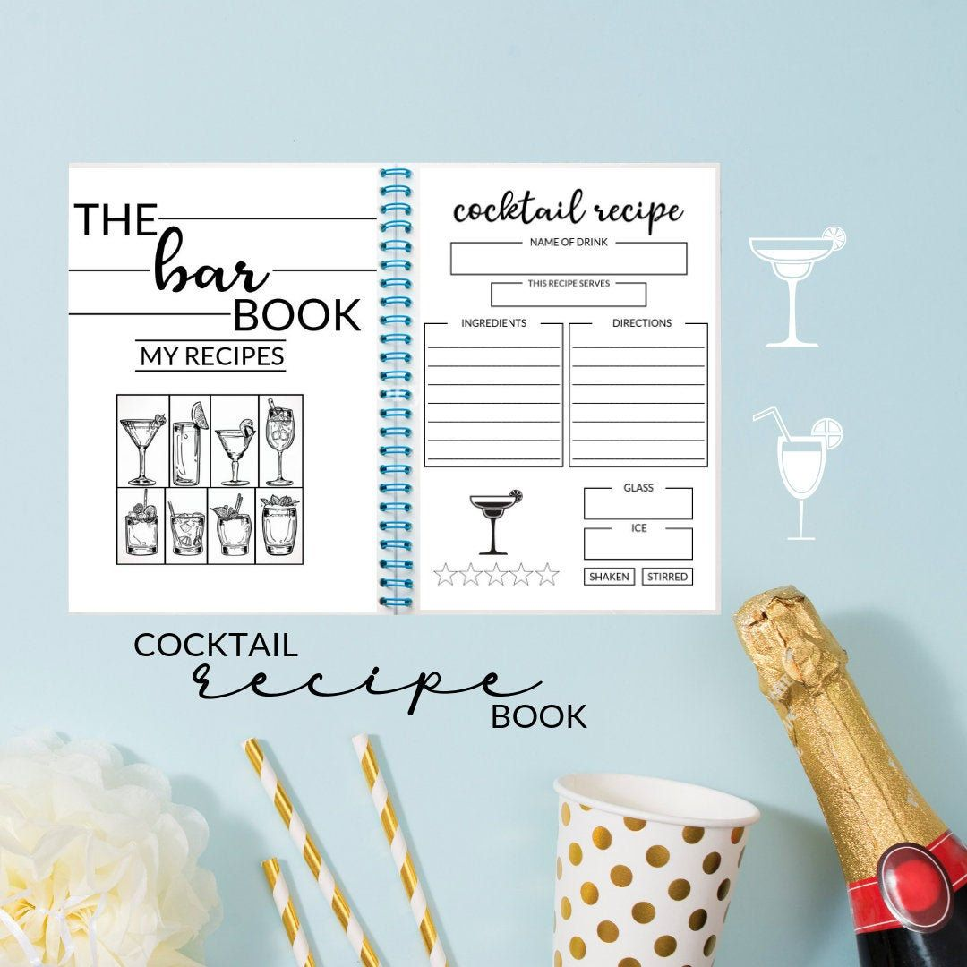 The Bar Book Cocktail Recipe Book Recipes For Alcohol Cocktails Wine Beer Diy Gifts For Wedding Cocktail Recipe Book Recipe Book Diy Drink Recipe Book