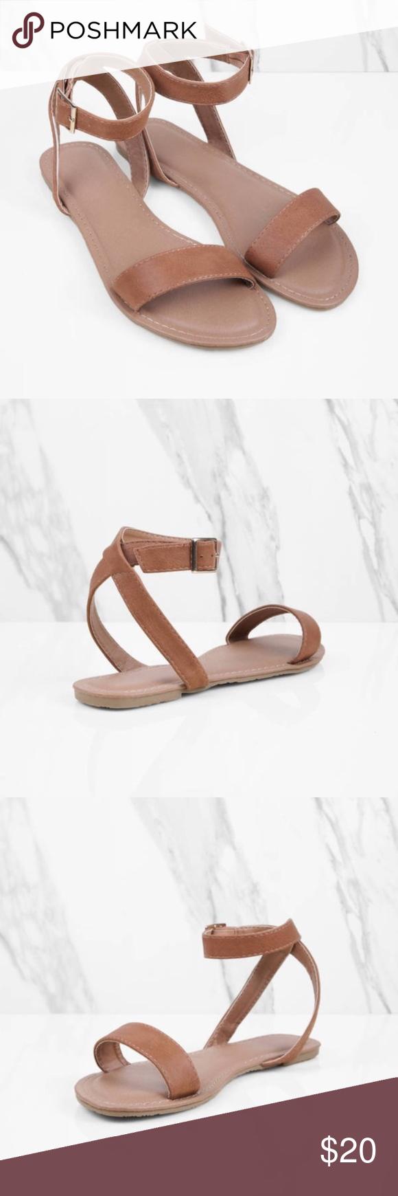 3824cfc7f534f3 Tobi Mocha Ankle Strap Sandals