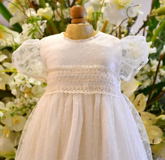 Couture Baptism Gown ~ Christening Gowns ~ Dedication Gown ...