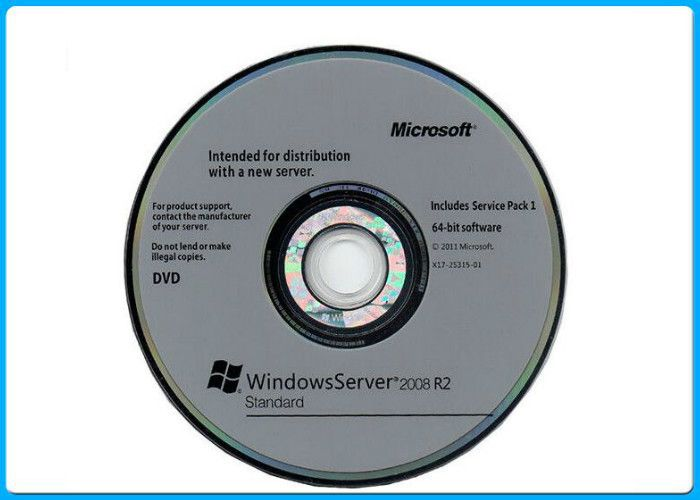 Windows Server 2008 R2 DVD ISO media and Retail License