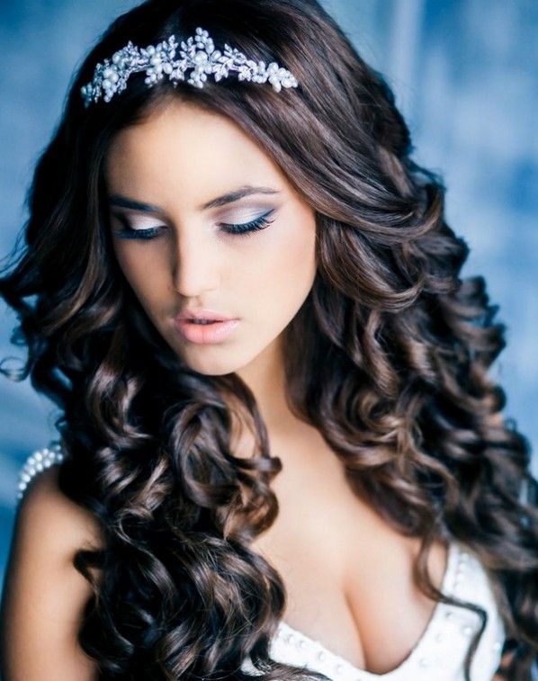Curly Weaves Wedding Hairstyles Weddinghairstyle