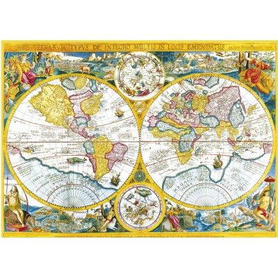 Puzzle jigsaw puzzle 4000 pieces ancient world map puzzle puzzle jigsaw puzzle 4000 pieces ancient world map gumiabroncs Gallery