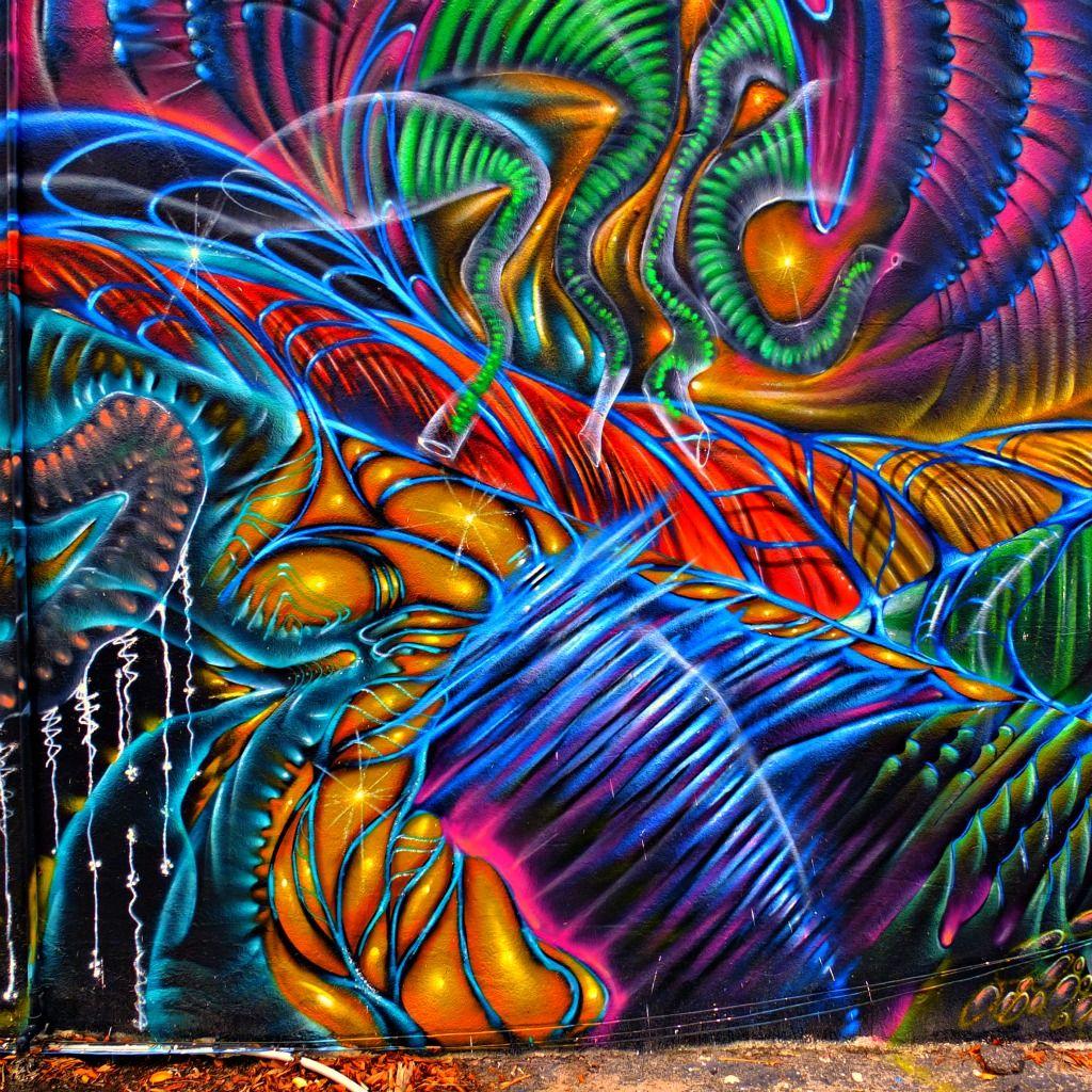 Живые картинки граффити