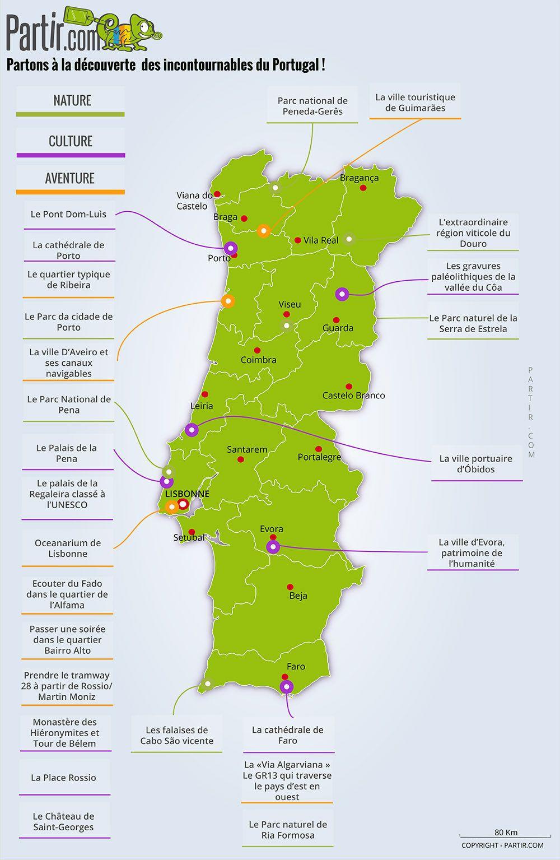 Epingle Par Serrot Sur Voyage Carte Portugal Carte Touristique