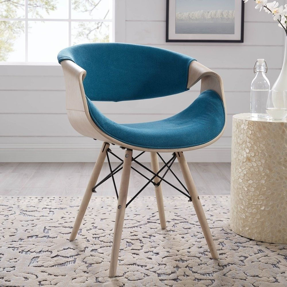 Magnificent Shop Corvus Adams Contemporary Teal Blue Accent Chair On Gamerscity Chair Design For Home Gamerscityorg