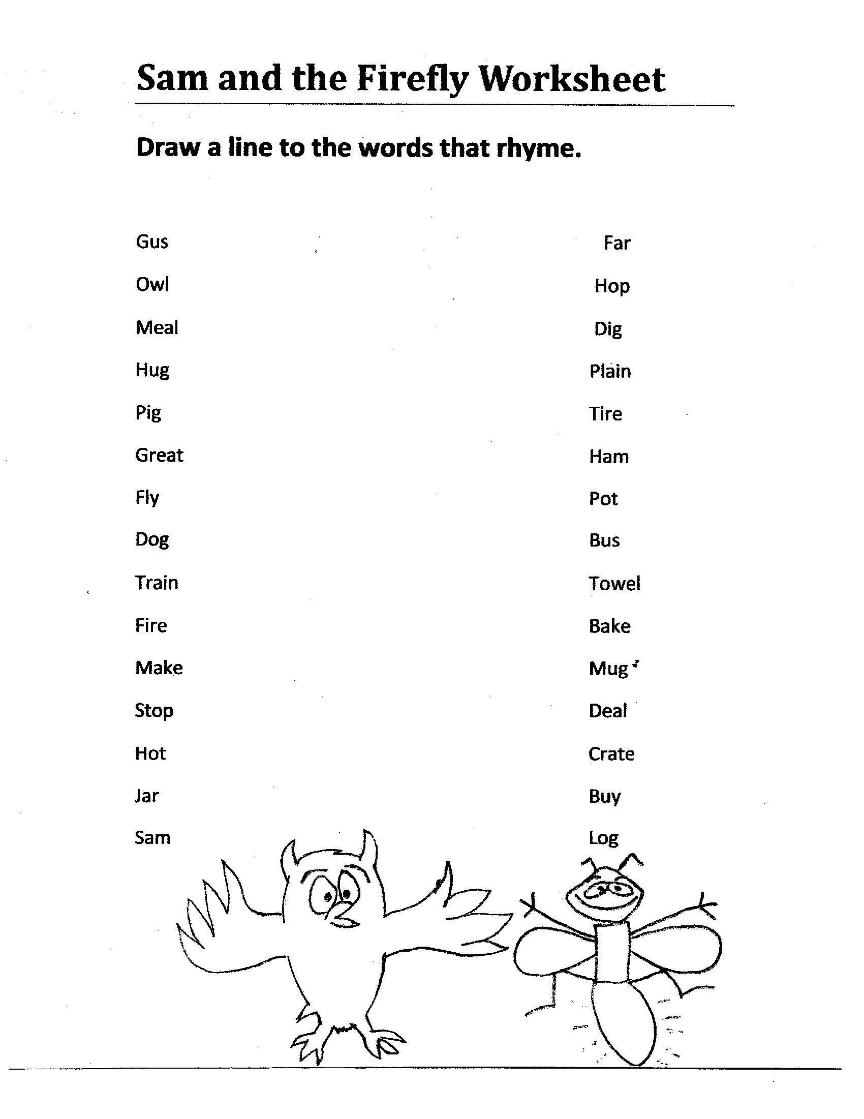 Fun Worksheet For Kids