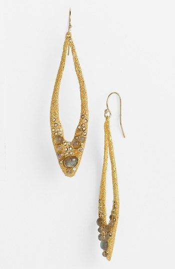 Alexis Bittar 'Elements - Jardin de Papillon' Open Teardrop Earrings