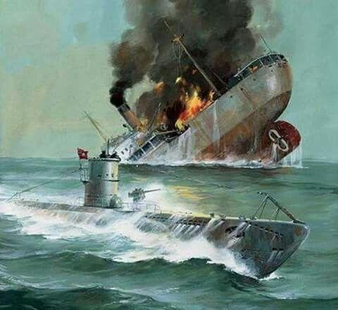 otto kretschmer el as de submarinos alem n con m s barcos hundidos con su u 23 y u 99 44 barcos. Black Bedroom Furniture Sets. Home Design Ideas