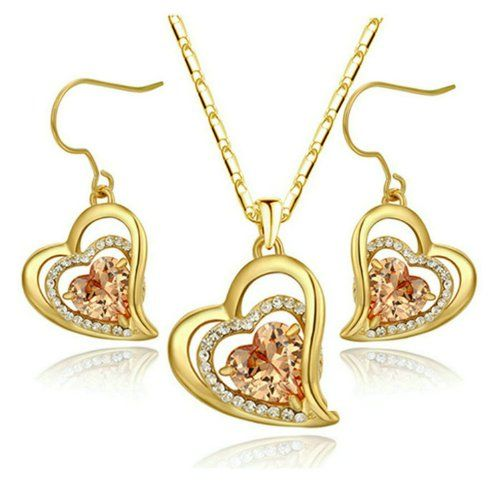 Yoursfs 18k Yellow Gold Plated Fashion Heart Shaped Topaz Crystal Necklace and Earring Sets Yoursfs http://www.amazon.com/dp/B00CKLJI6O/ref=cm_sw_r_pi_dp_Ell3ub1T4V0W4