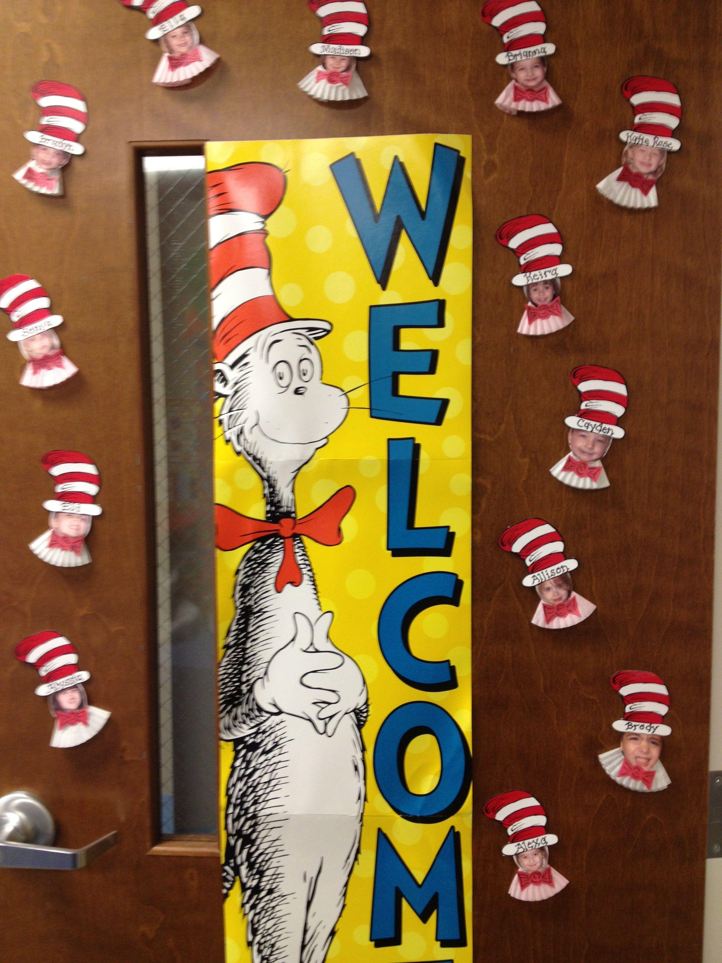 Dr Seuss Preschool Door