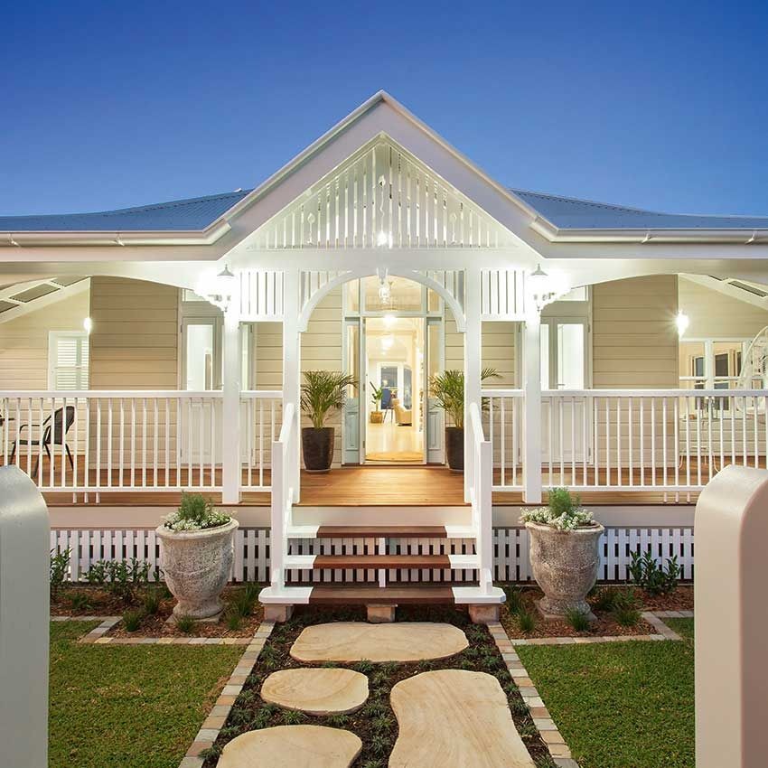 Private Home Queensland Australia: See This Magnificent Queenslander Home Renovated To