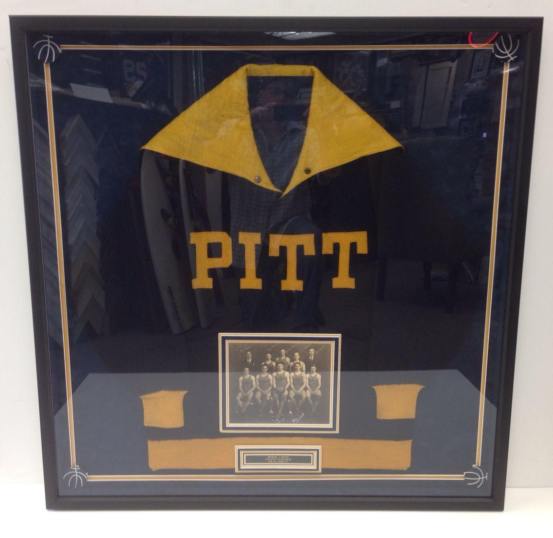 Pitt basketball 1928 display!   SHADOW BOX FRAMING !   Pinterest ...