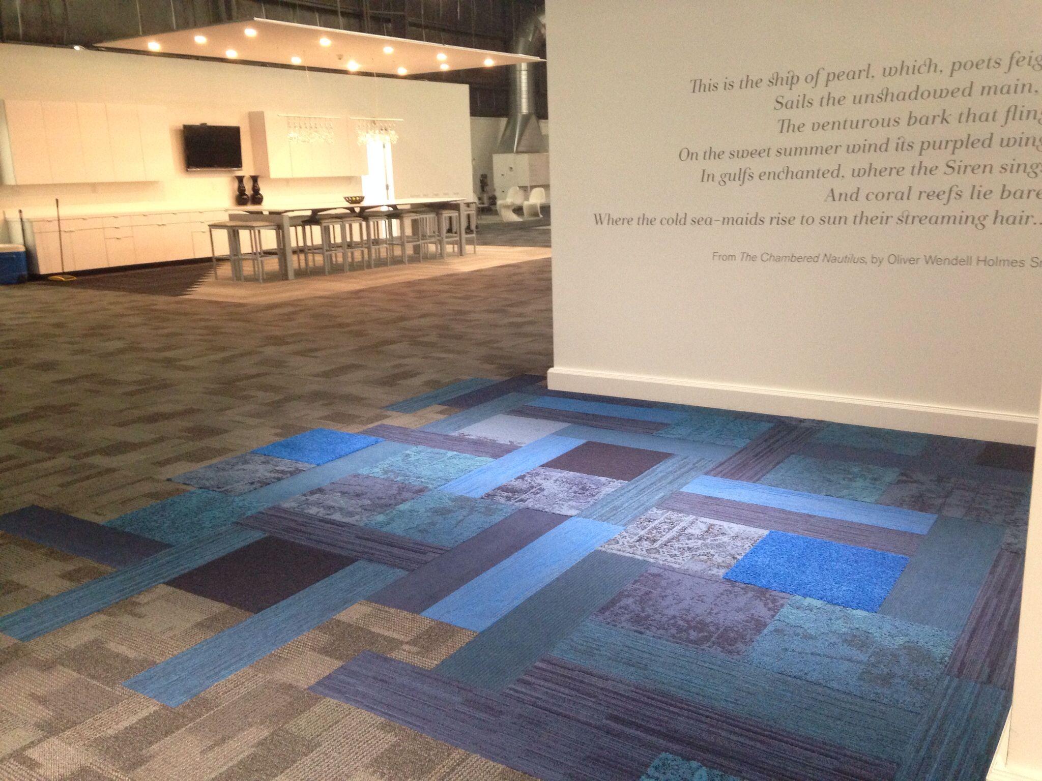 Interface Entropy With Net Effect Mash Up Rug Carpet Tiles