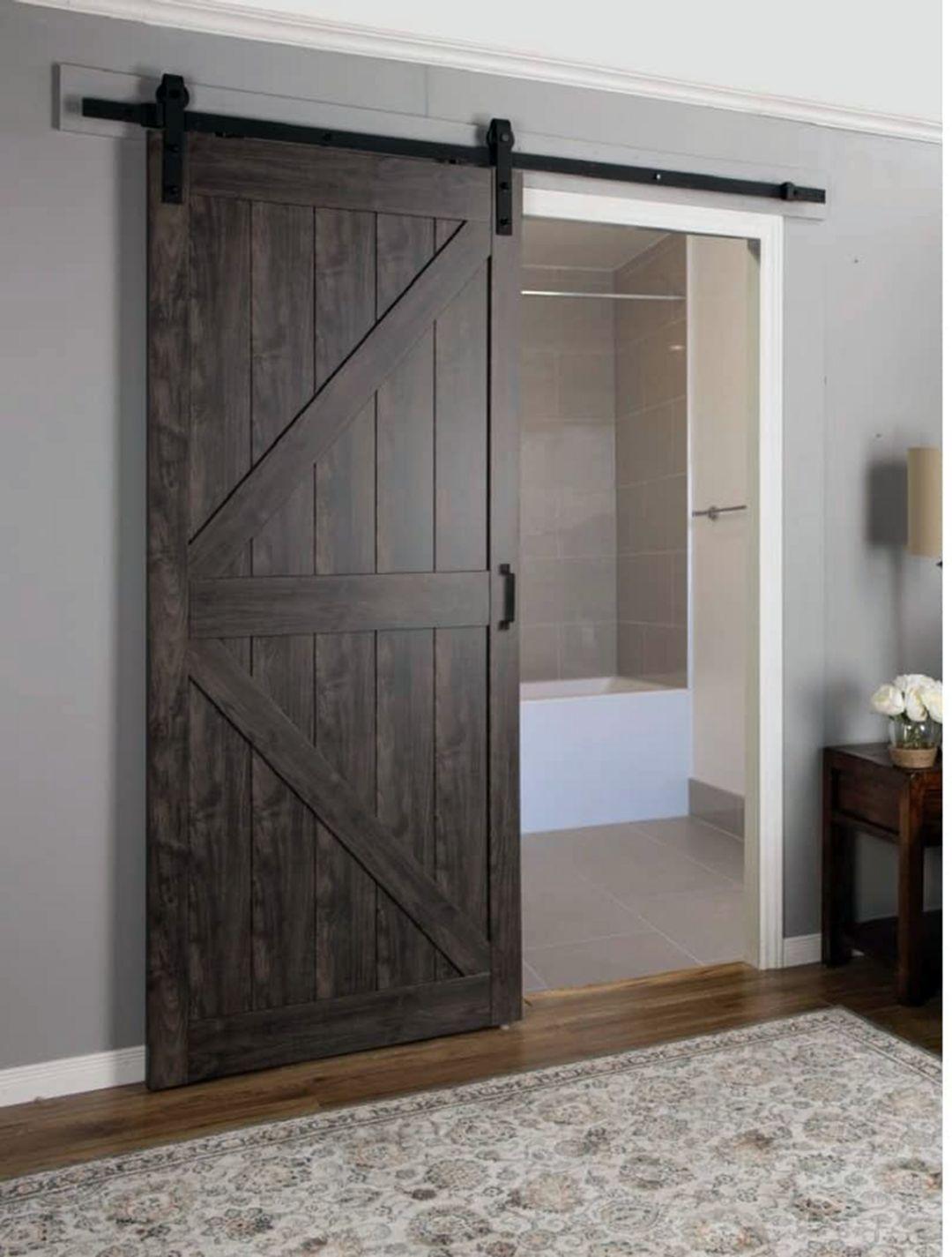 7 Modern Farmhouse Sliding Barn Door Ideas In 2020 Interior Barn Doors Doors Interior Wood Doors Interior