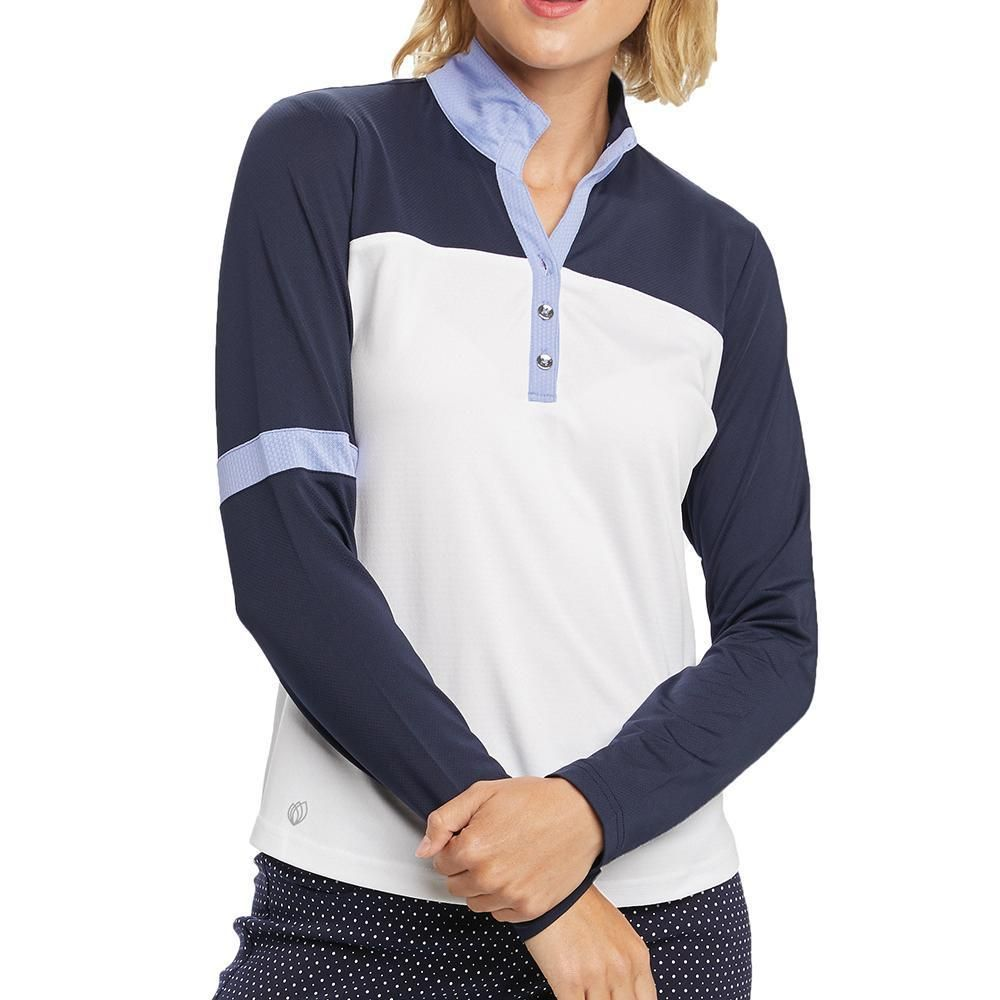 Ggblue Oasis Long Sleeve Polo Golf Outfits Women Golf Outfit Long Sleeve Polo