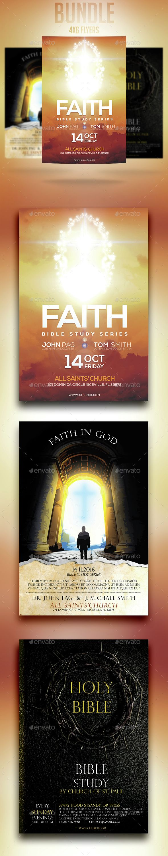 x church flyers bundle pathways church and paths 4x6 church flyers bundle