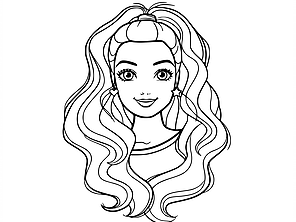 Barbie Coloring Pages Rainbow Playhouse Barbie Coloring Pages Barbie Drawing Barbie Coloring