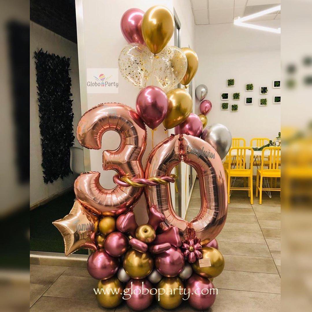 Globo Party En Instagram Continuamos Repartiendo Bouquet De Globos A Una Hermosa Chica En Sus 30 Año Balloon Bouquet Balloon Design Party Decorations
