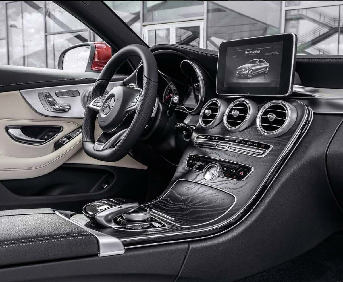 small resolution of  mercedes c coupe interior