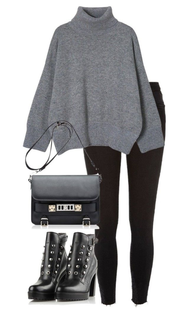 """""""Untitled #2615"""" by elenaday on Polyvore featuring Proenza Schouler, Diesel, women's clothing, women, female, woman, misses and juniors"""
