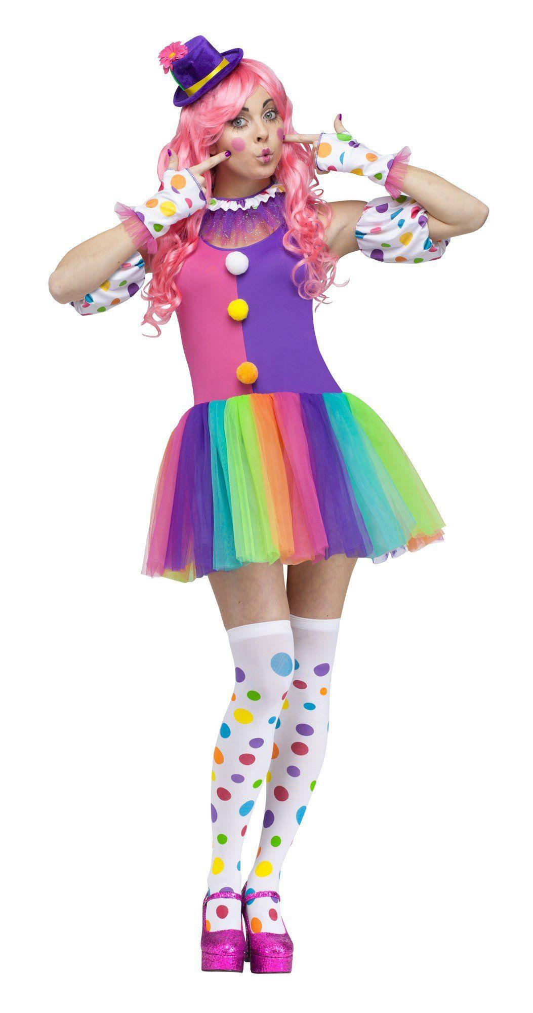 Fun World Costumes Womens Clownin Around Adult Costume