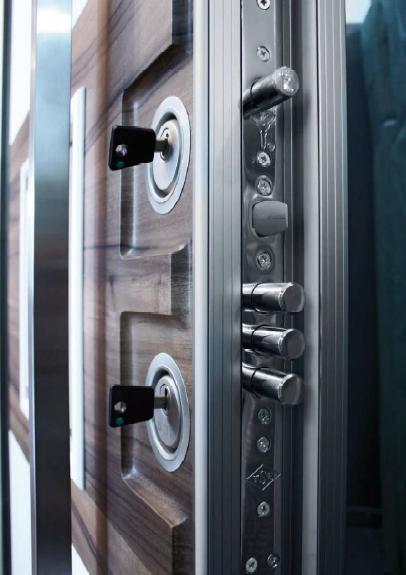 Side View Of Our Steel Security Door Www Scorematerials Com For More Information Steel Security Doors Door Design Security Door