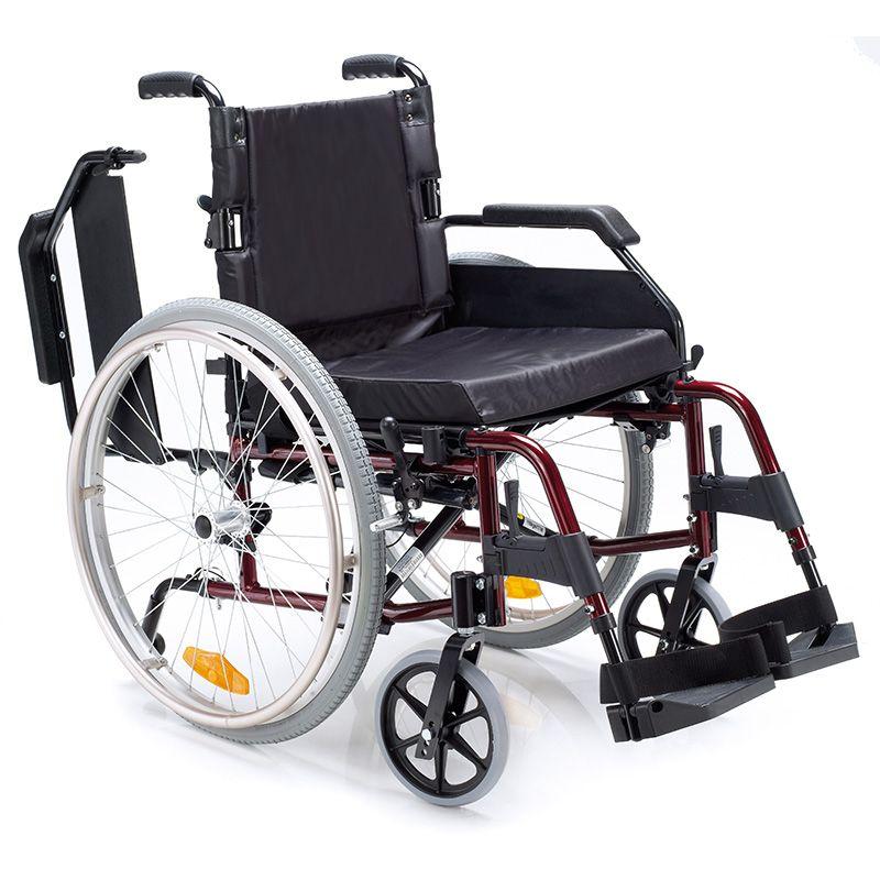 La Diferencia en la Movilidad VENETTO  Silla de ruedas de alumino ligera  Características: Respaldo plegable. Reposabrazos corto extraíble y abatible. Repo...