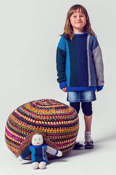 Spielzeug stricken - Puppe - kostenlose Anleitung - Initiative ...