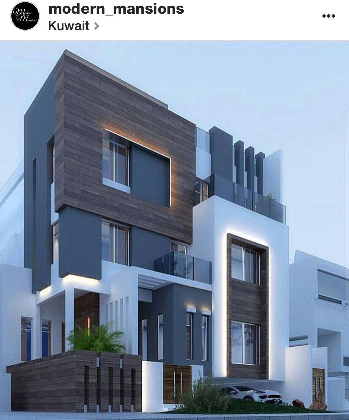 4 Level Modern Design House Architecture Design Modern Mansion Architecture